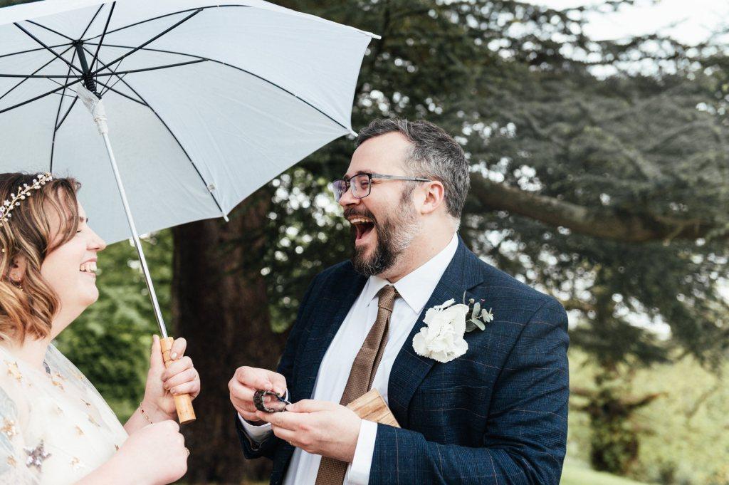 Fun Intimate Wedding Photography Surrey