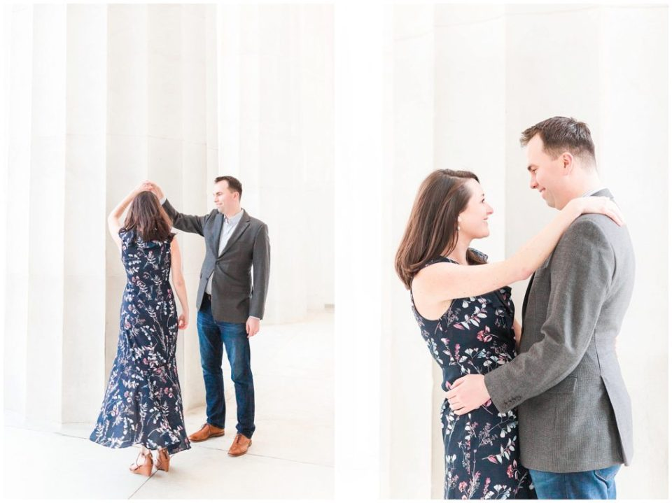 Lincoln Memorial DC Engagement Session