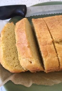 JG Wellness Almond flour bread recipe sliced