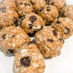 no-bake oat chocolate peanut butter cookies