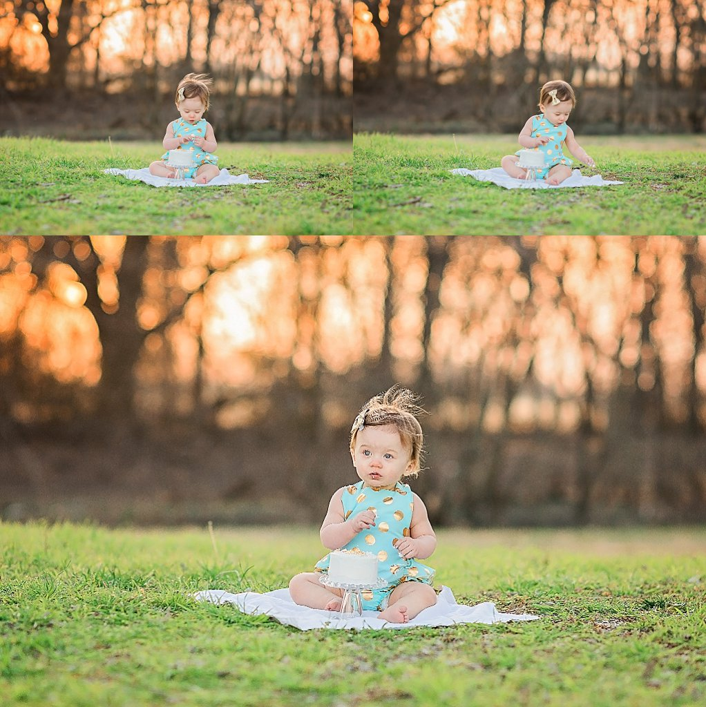 dallas cake smash session photography