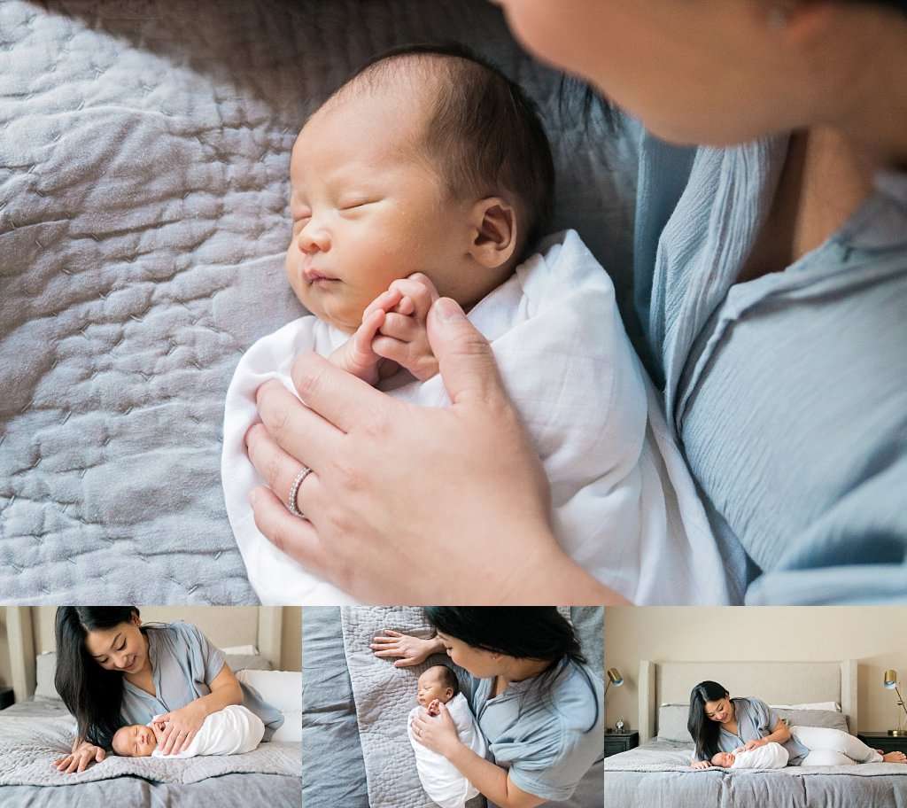 dallas tx newborn session