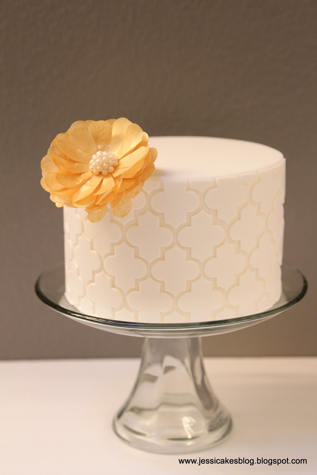 Moroccan Cake A Wafer Paper Flower Tutorial Jessica Harris Cake