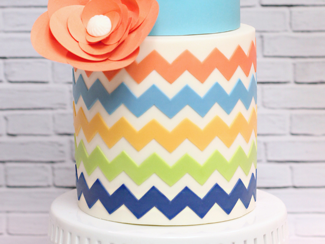Large Chevron Pattern
