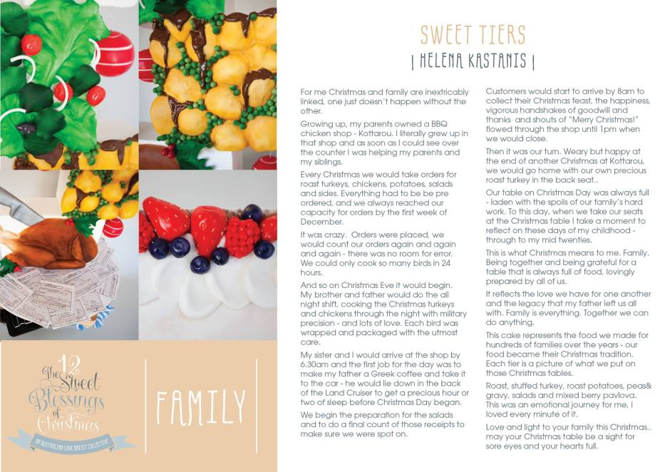 Day 8 Family Explained by Helena Kastanis of Sweet Tiers