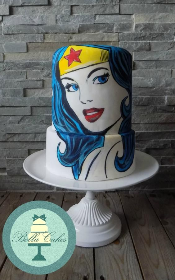 Wonder Woman Hand Painted