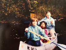 Canoeing the Au Sable River in Michigan