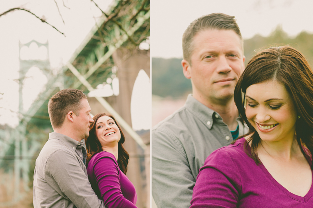 Cara and Steven | A Cathedral Park and Waterfront ...