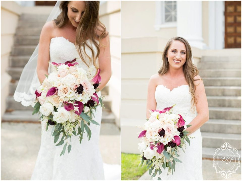 Elegant Southern Charcoal and Maroon Wedding_0025