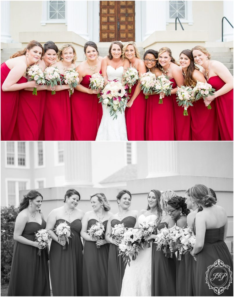 Elegant Southern Charcoal and Maroon Wedding_0028