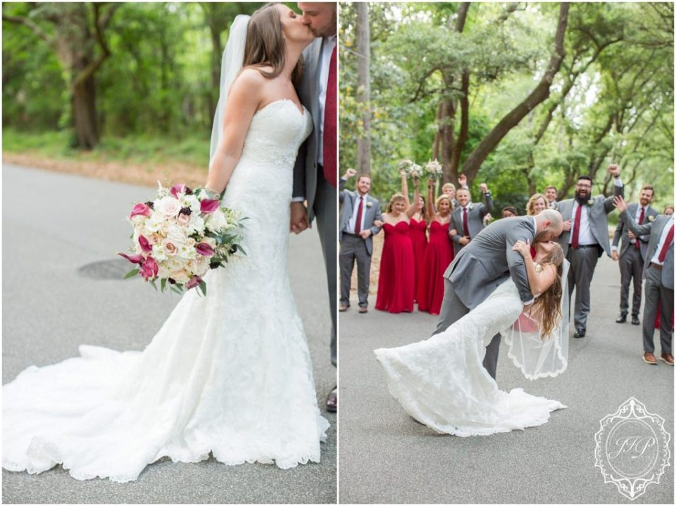 Elegant Southern Charcoal and Maroon Wedding_0056