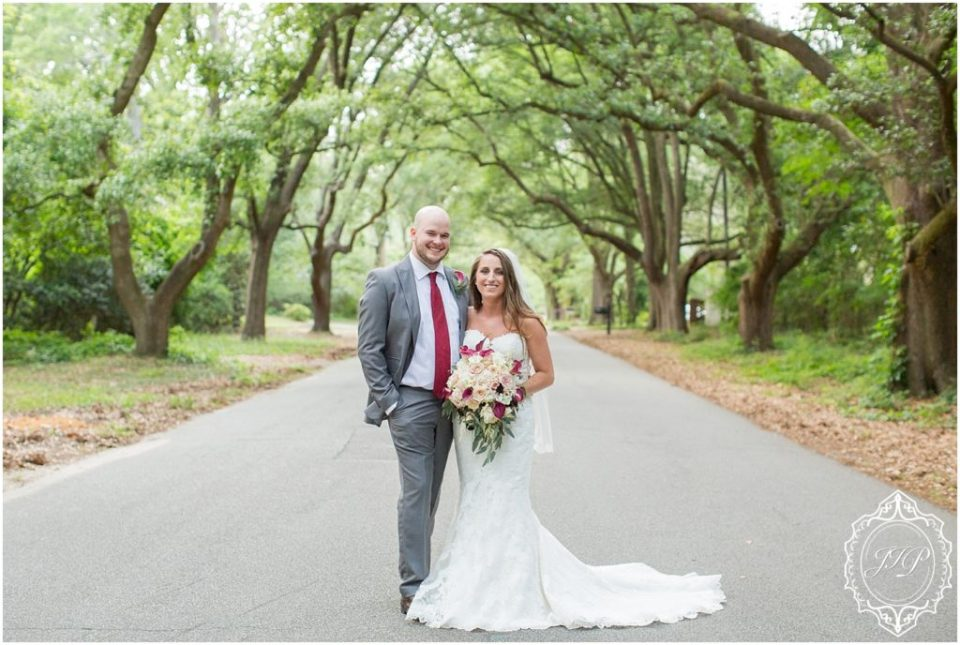 Elegant Southern Charcoal and Maroon Wedding_0059