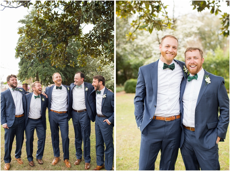 Navy suits for wedding