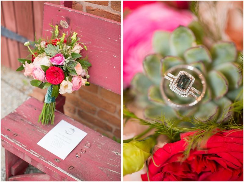 Floral arrangements for spring wedding