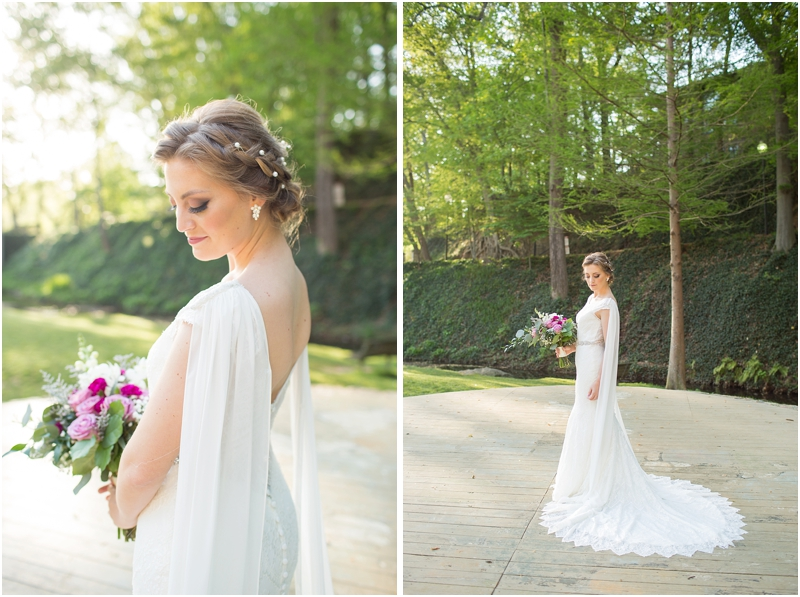 Falls Park on the Reedy Bridal Portraits