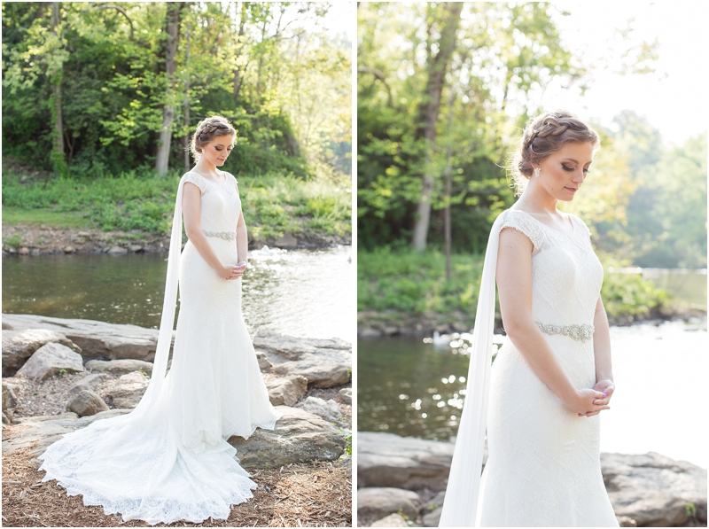 Falls Park Greenville SC Bridal Session