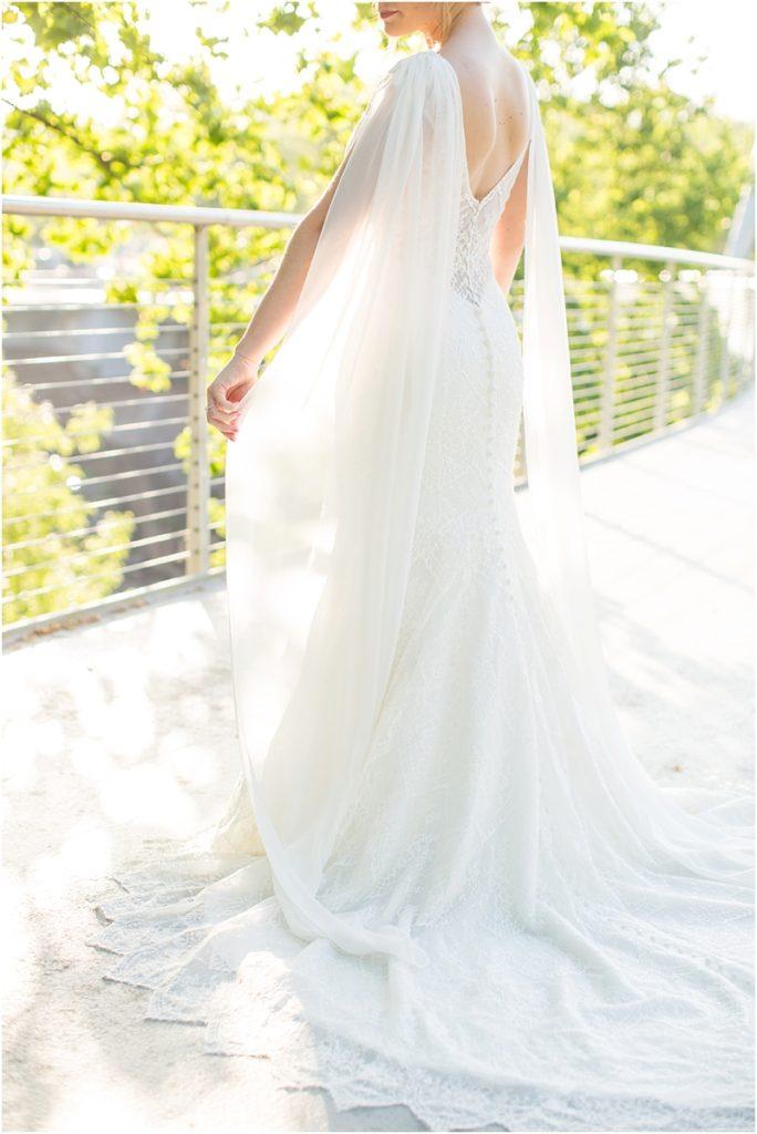 Daenerys Targaryen inspired bridal gown