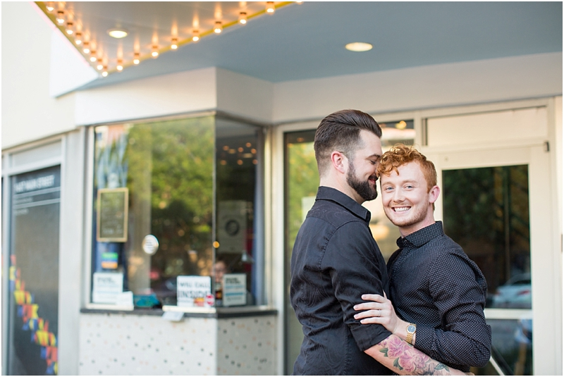 same sex engagement photography
