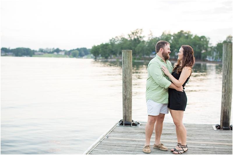 Lake Murray SC engagement