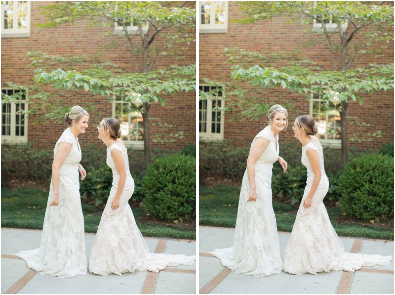 same-sex wedding first look