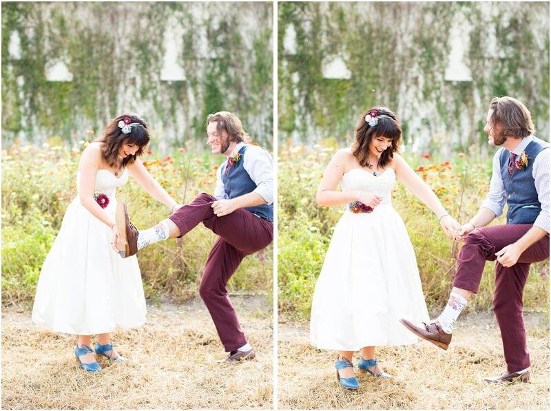 simple backyard wedding dress