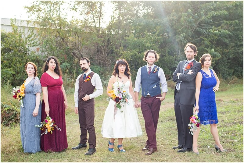 outdoor wedding photographers