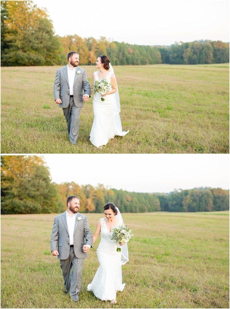 south carolina outdoor wedding photos