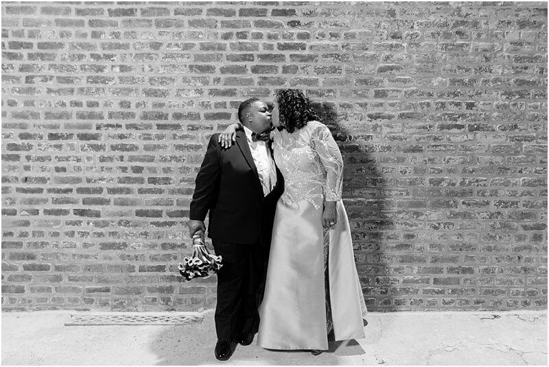 Lula Drake Pastor's Study Wedding