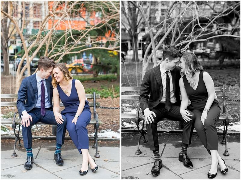 Anniversary Photo session in NYC