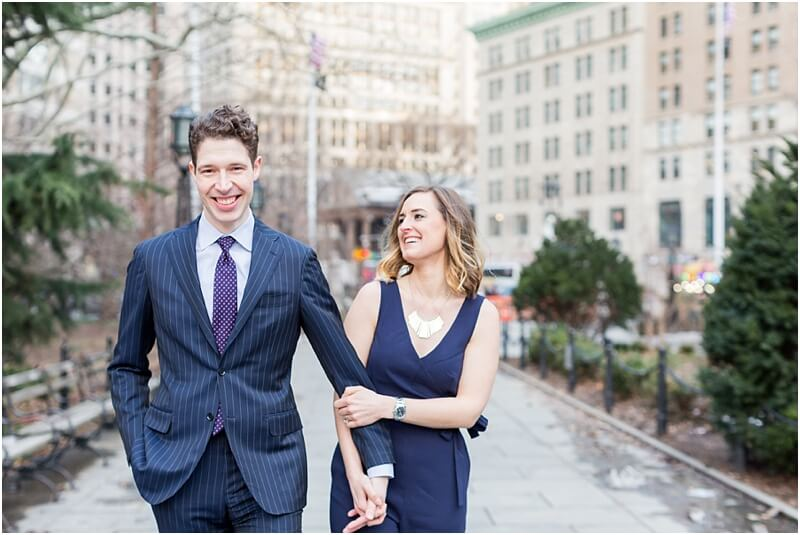 Engagement photoshoot in NYC