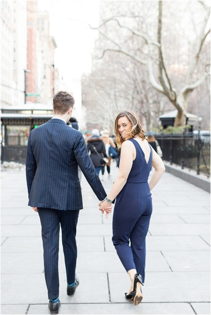 New York Engagement session