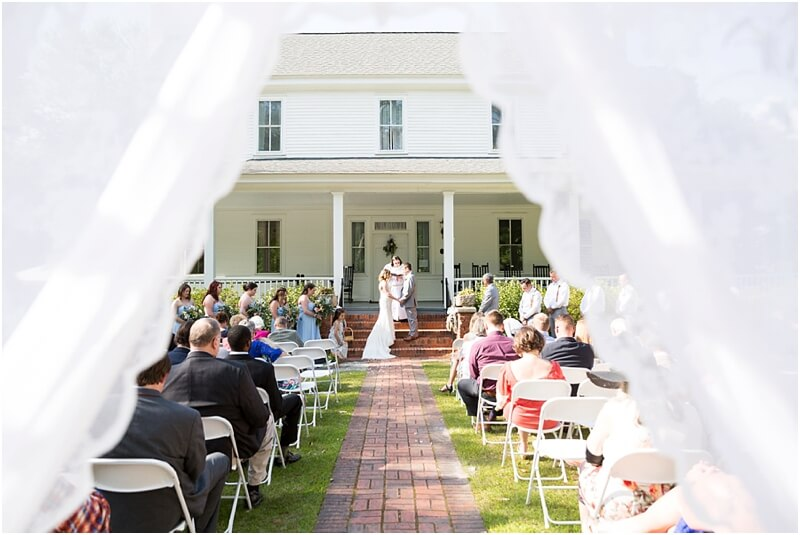 Wedding at Coker College