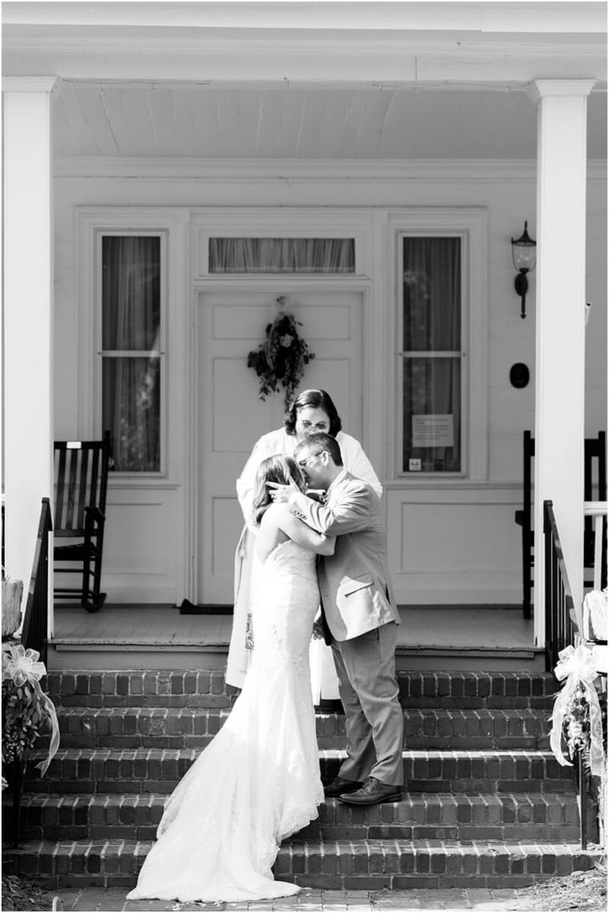 Wedding at Coker College Gardens