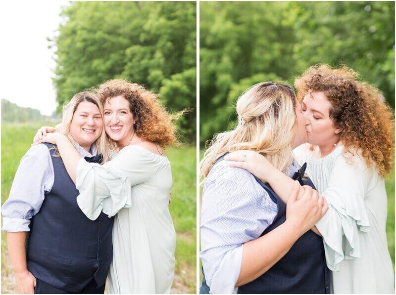 same-sex friendly wedding photograper