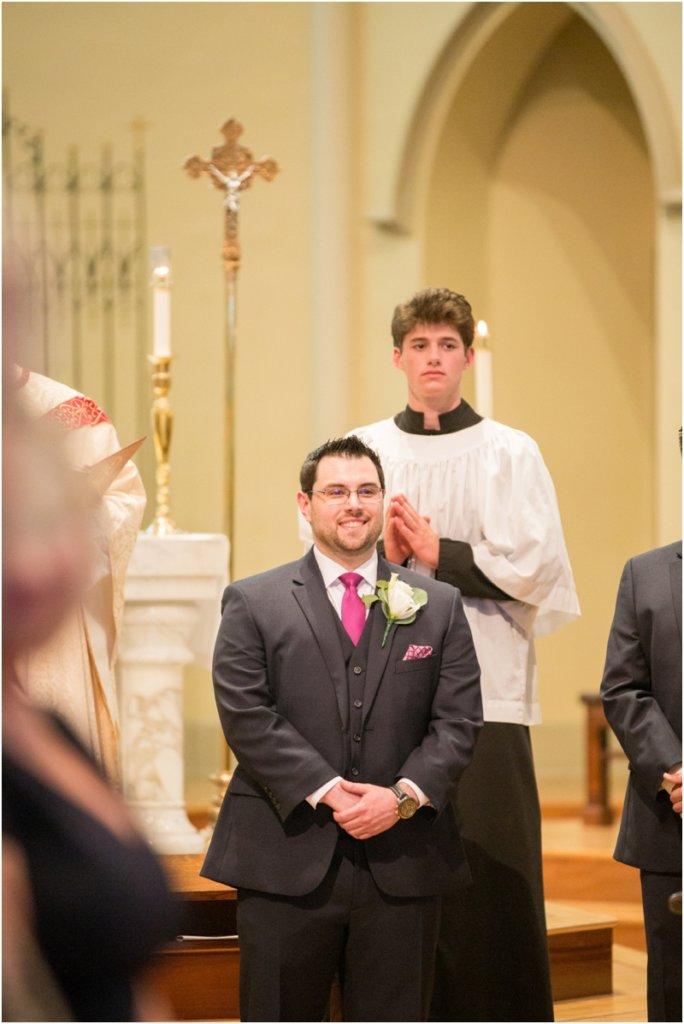 Basilica of St Peters south Carolina wedding photos