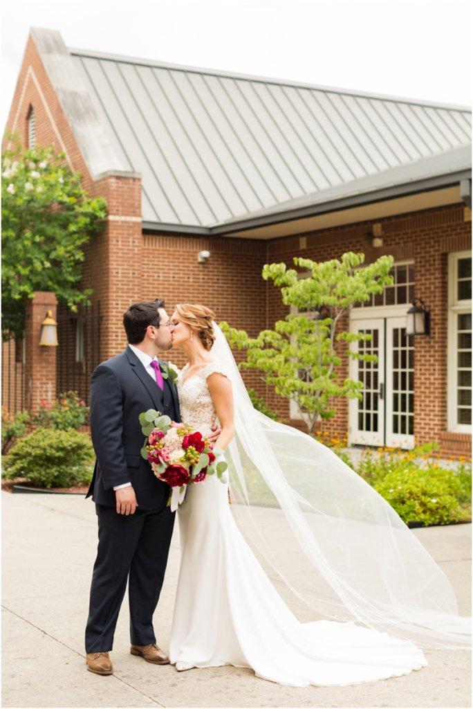 Basilica of St Peters south Carolina wedding photos Bride & groom wedding portraits
