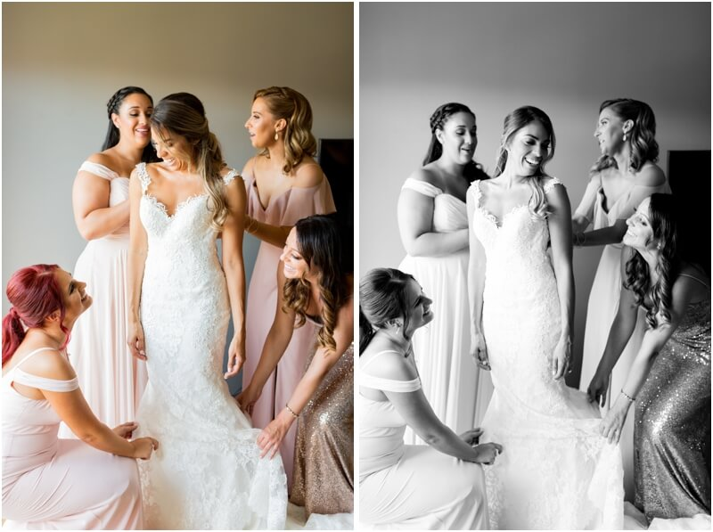 The Madison hotel wedding photos new jersey wedding venues bridesmaids getting ready