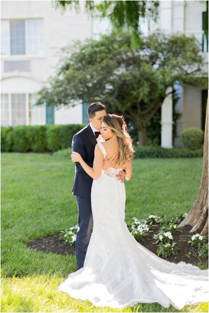The Madison Hotel wedding photos Badgley Mishka wedding dress Morristown, New Jersey