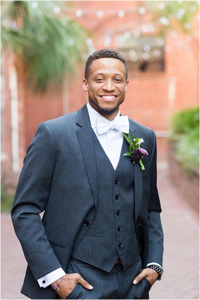 701 Whaley Wedding Photos Groom portraits Columbia South Carolina wedding photos