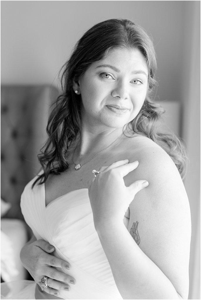 LGBTQ+ Citadel Beach Club Bridal Portrait