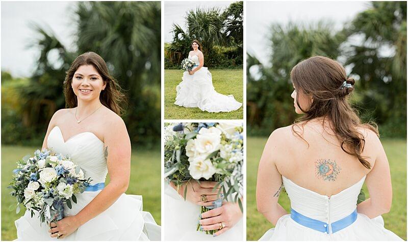 LGBTQ+ Citadel Beach Club Bridal portraits