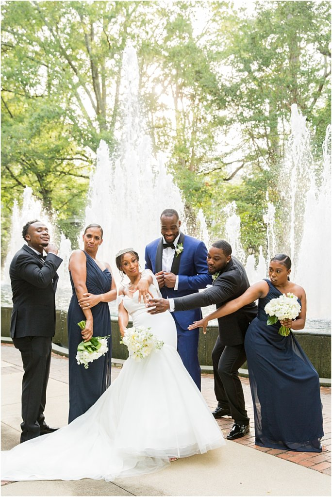 Columbia, SC Wedding Party at Lace House at Arsenal Hill