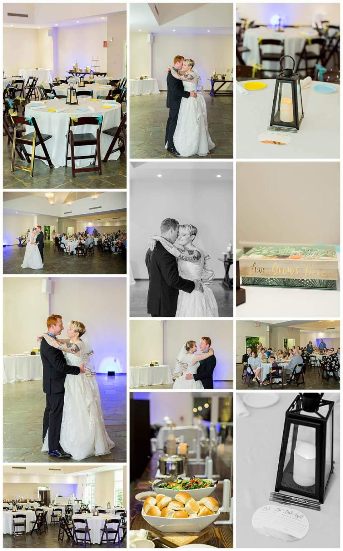 Riverbanks Zoo Botanical Gardens Wedding Reception in the Magnolia Room
