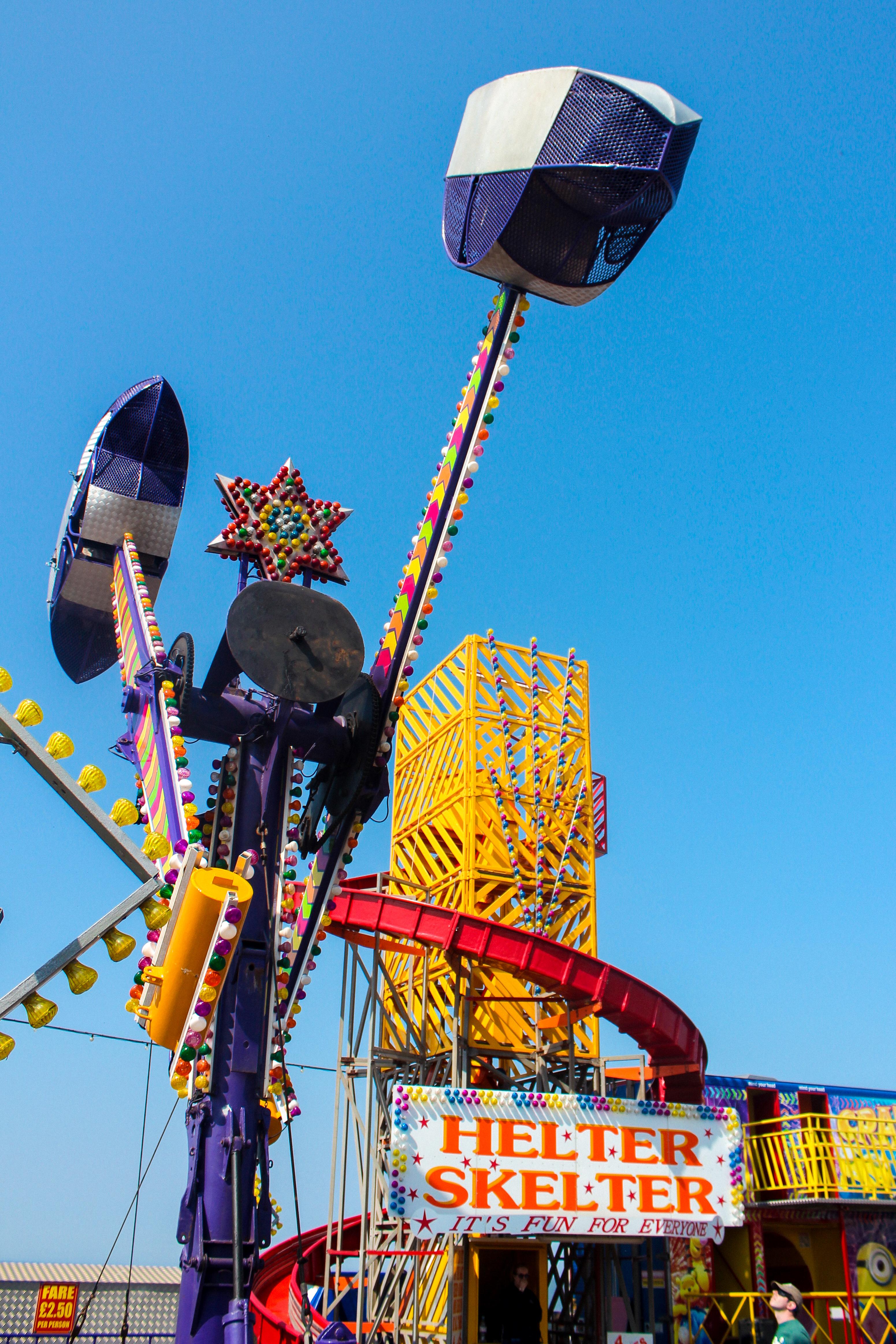 fairground-Hunstanton-beach-Norfolk