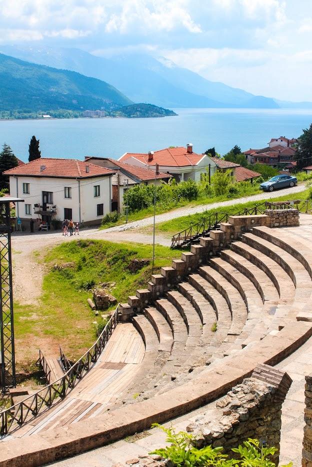 Amphitheatre-Lake-Ohrid-Macedonia
