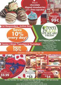 Valentine's Day store flyer