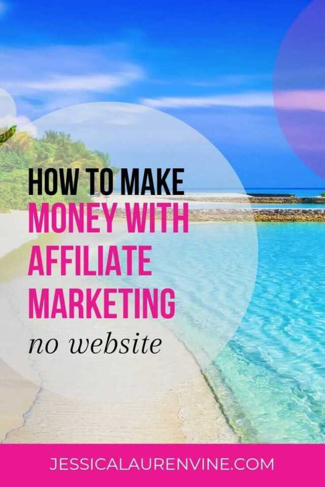 how to make money with affiliate marketing pin for pinterest