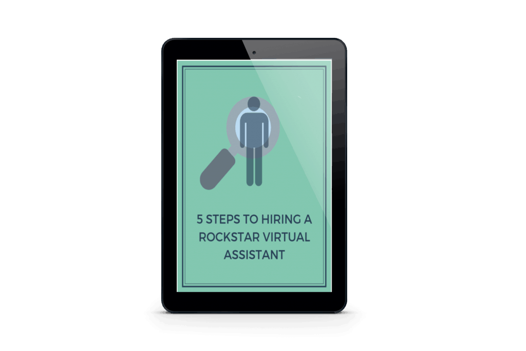 5 steps to hiring a rockstar virtual assistant | Jessica Lee