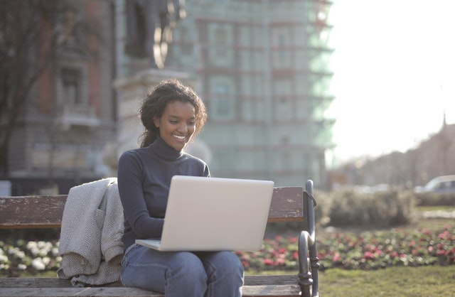 Photo of Woman Using Laptop by Jessica Lee | Jessica Lee