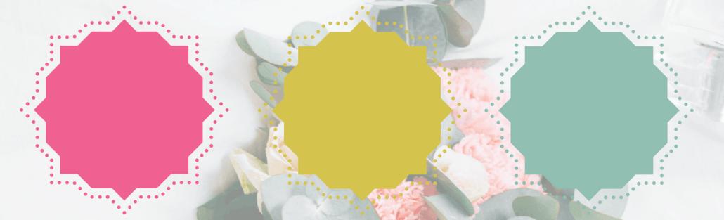boho tablescape color palette